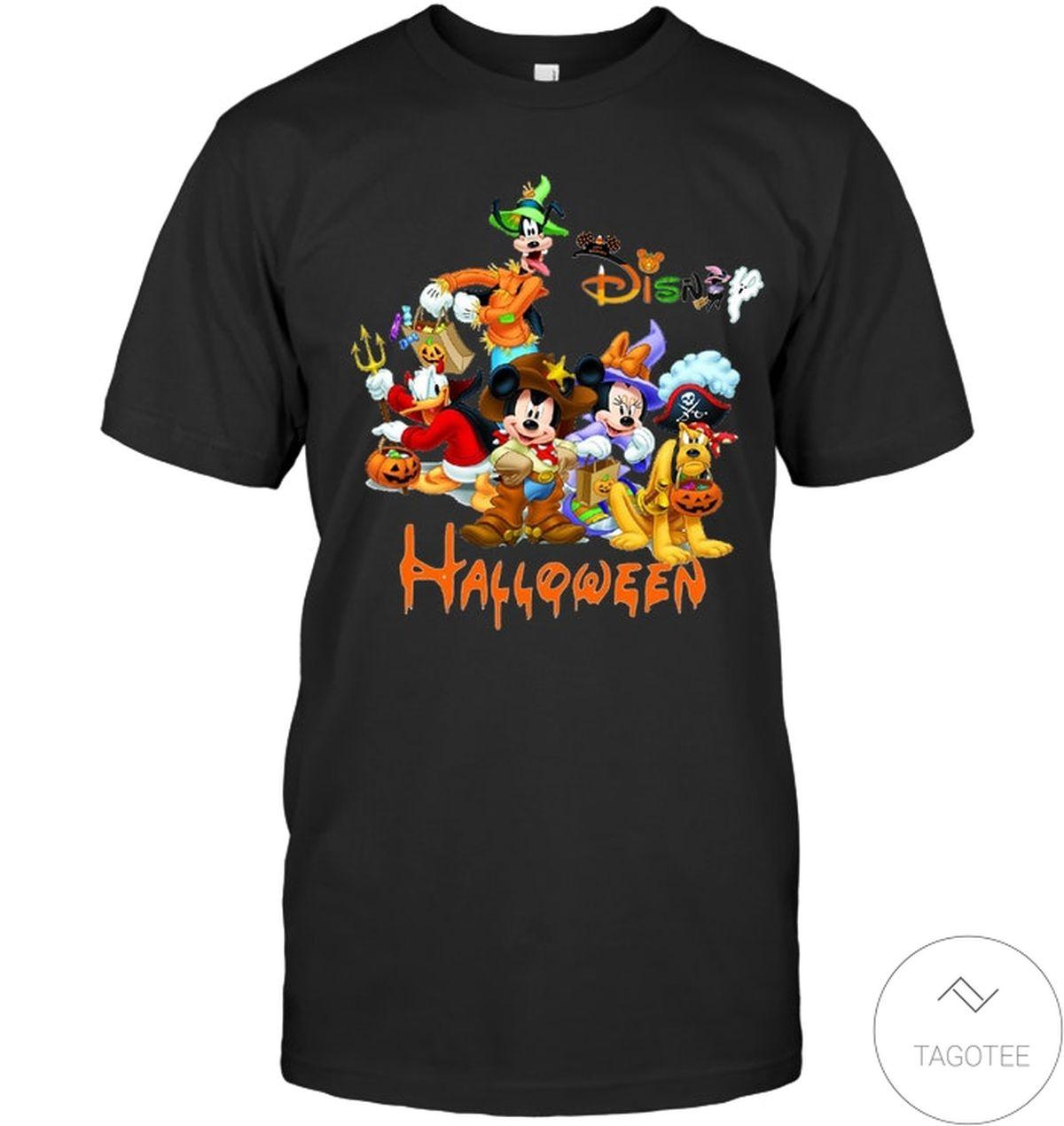 Present Disney Mickey Mouse Cartoons Halloween Shirt, hoodie