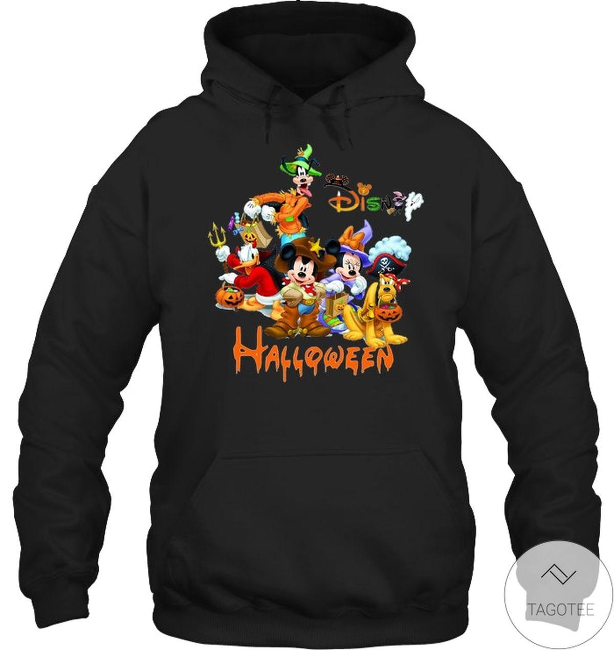 Ships From USA Disney Mickey Mouse Cartoons Halloween Shirt, hoodie