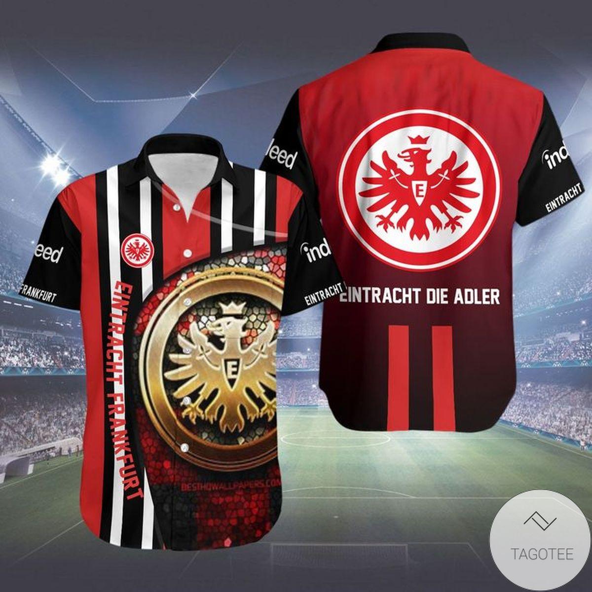 Eintracht Frankfurt Eintracht Die Adler Hawaiian Shirt