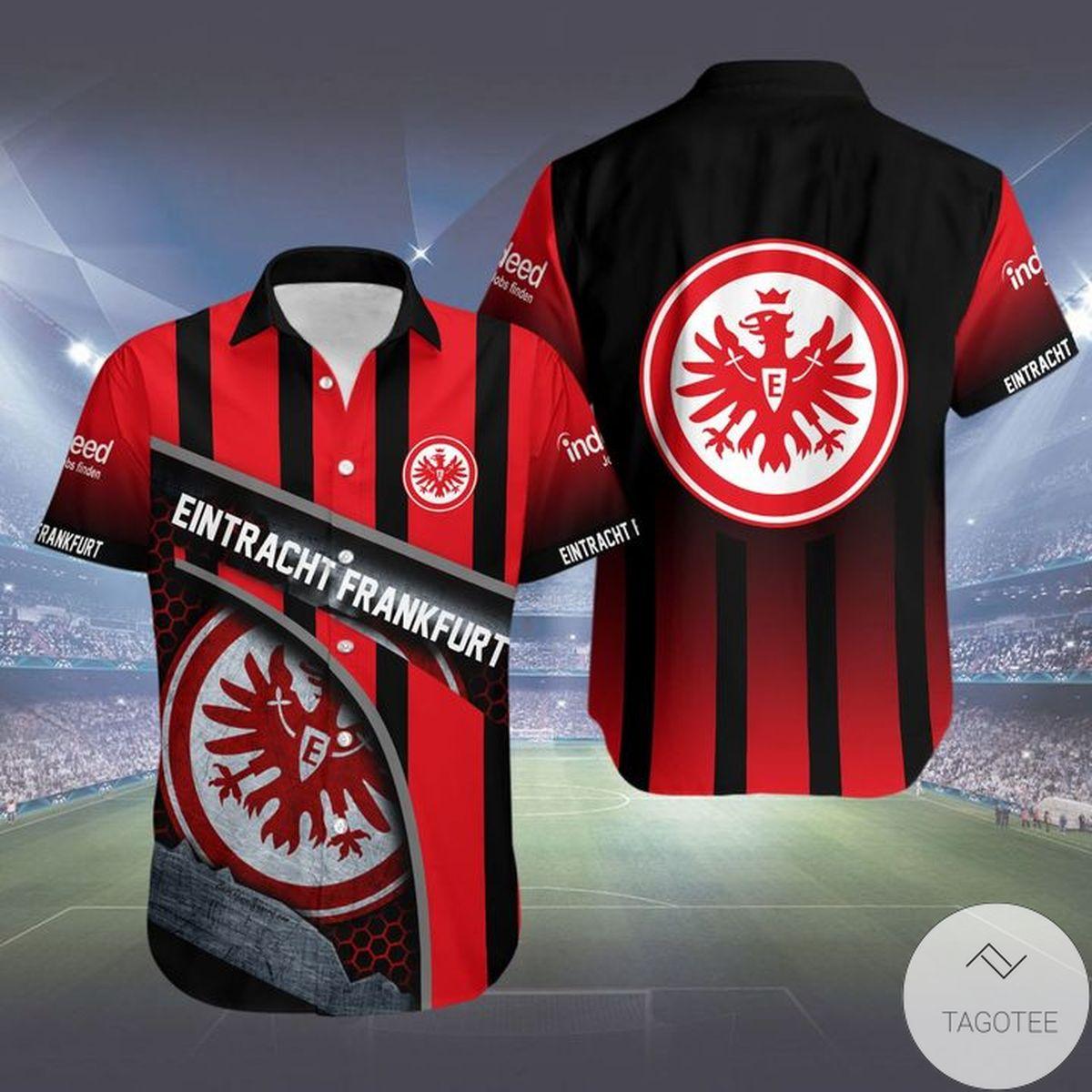 eBay Eintracht Frankfurt Hawaiian Shirt