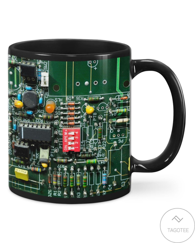 Best Gift Electrician Board Mugs