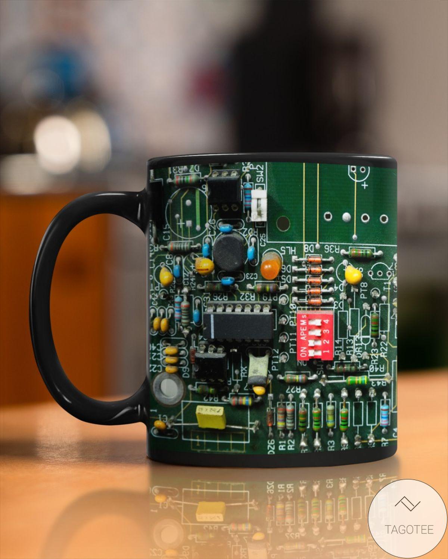 Nice Electrician Board Mugs