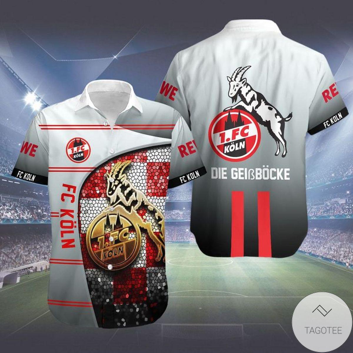FC Koln Hawaiian Shirt