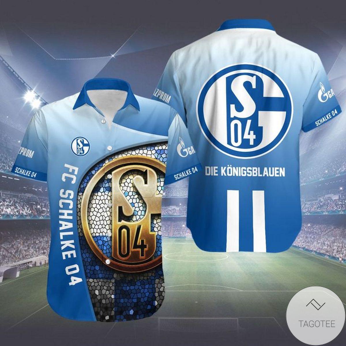 Best Gift FC Schalke 04 Hwaiian Shirt