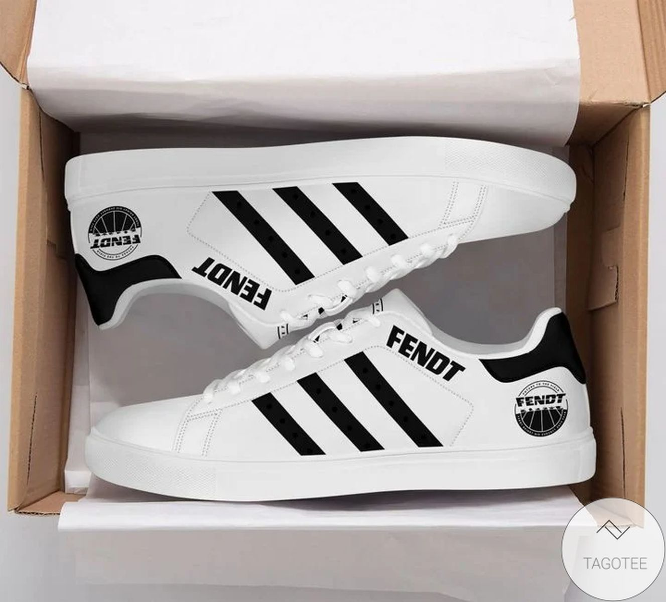 Great Quality Fendt White Stan Smith Shoes