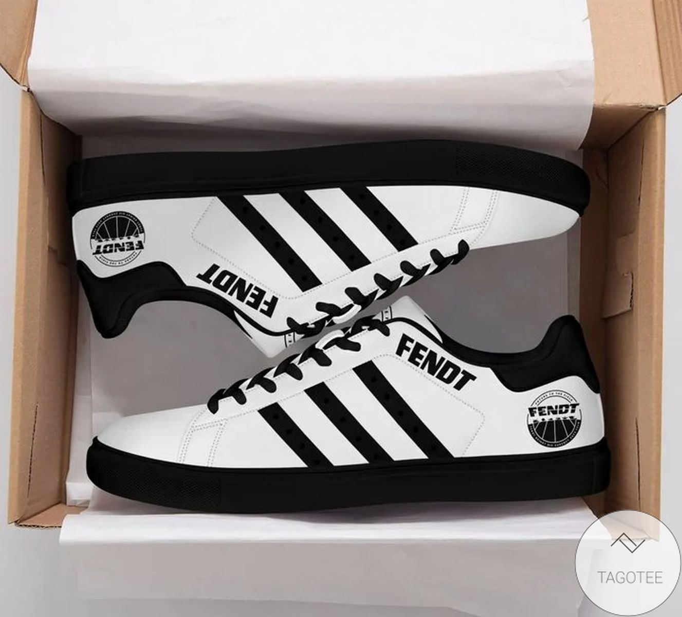 Free Fendt White Stan Smith Shoes