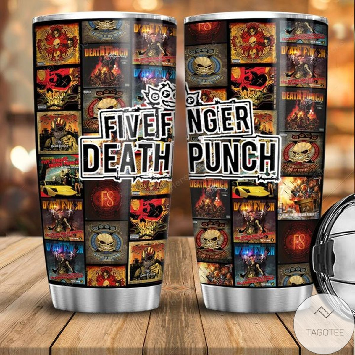 Awesome Five Finger Death Punch Tumbler