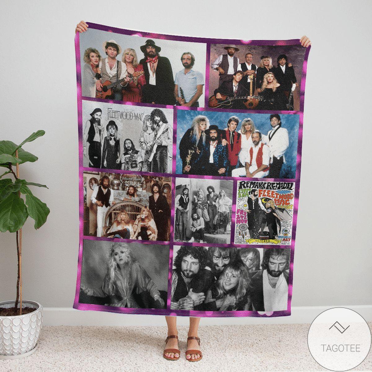 Fleetwood Mac Anniversary Blanket