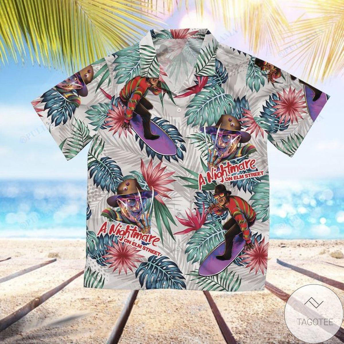 Absolutely Love Freddy Krueger A Nightmare On Elm Street Hawaiian Shirt