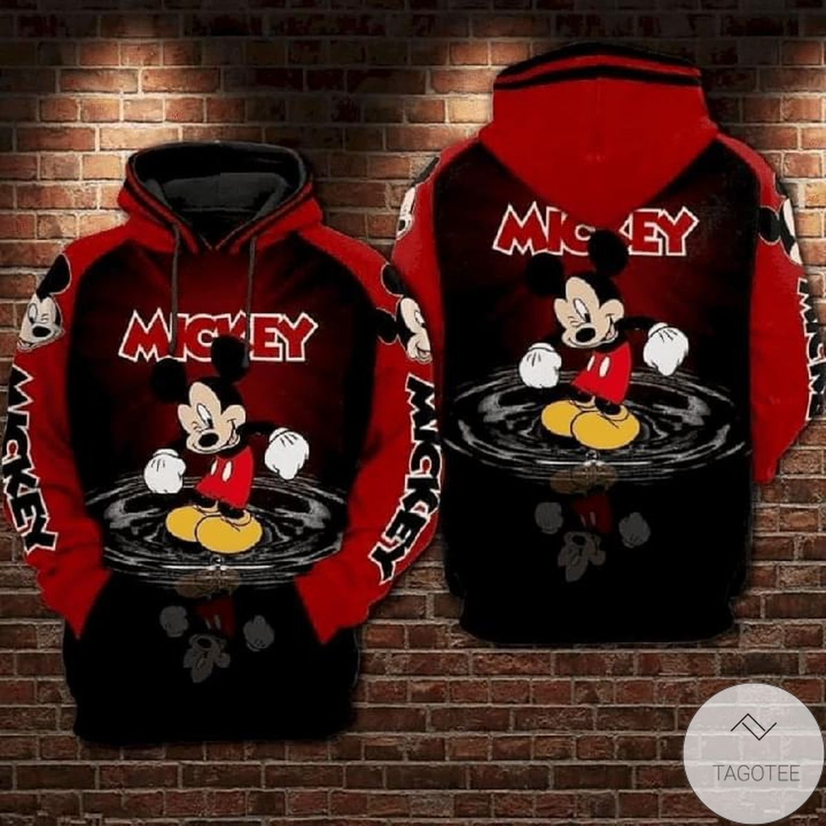 Funny Lovely Mickey Mouse Hoodie