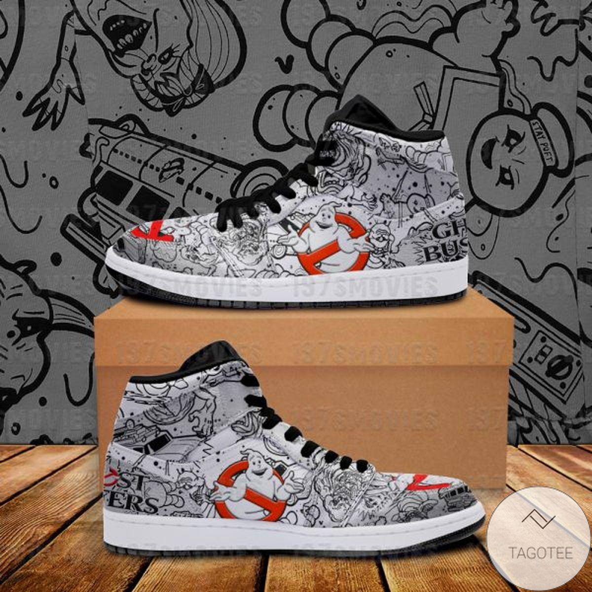 Fast Shipping Ghostbusters Sneaker Air Jordan High Top Shoes