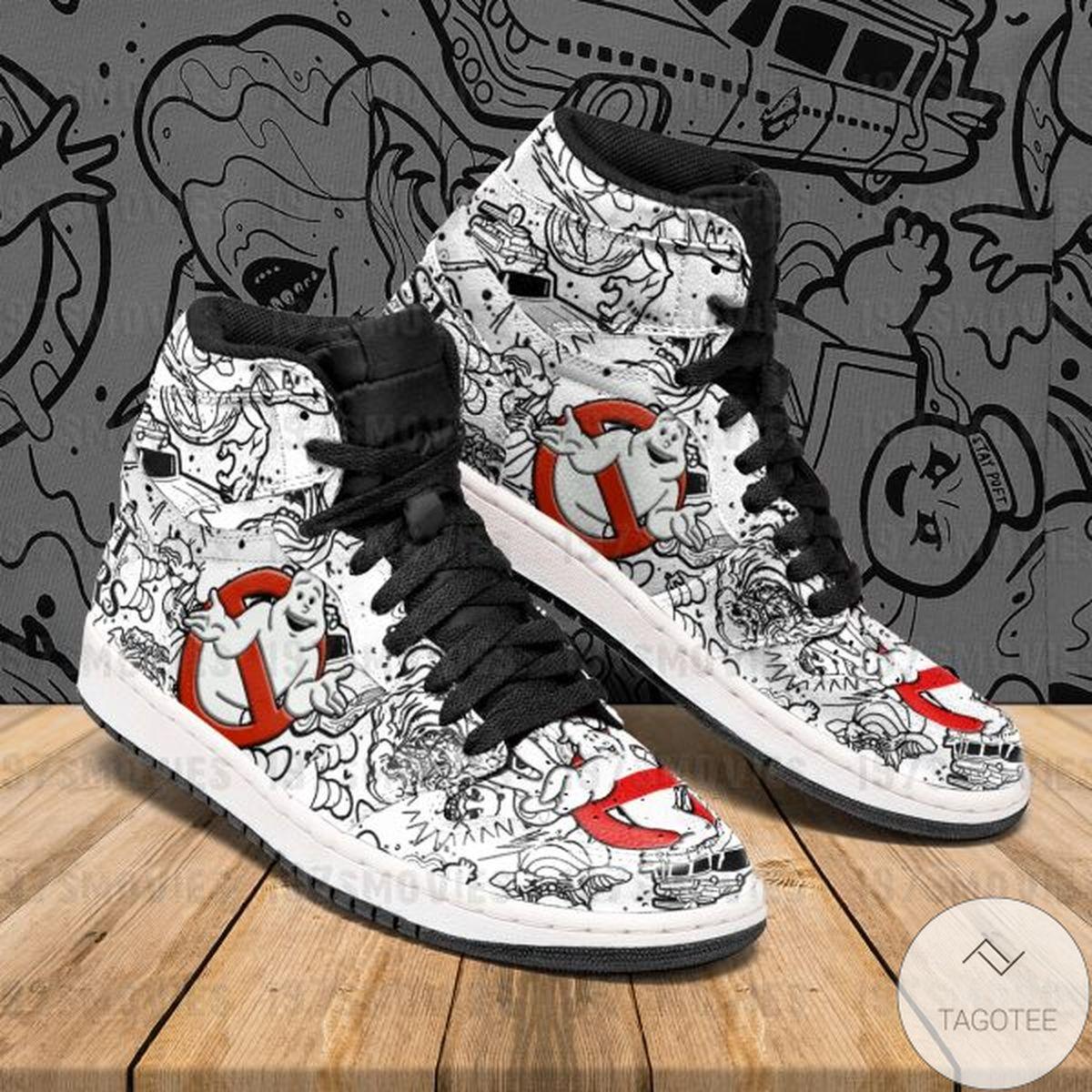 Ghostbusters Sneaker Air Jordan High Top Shoes