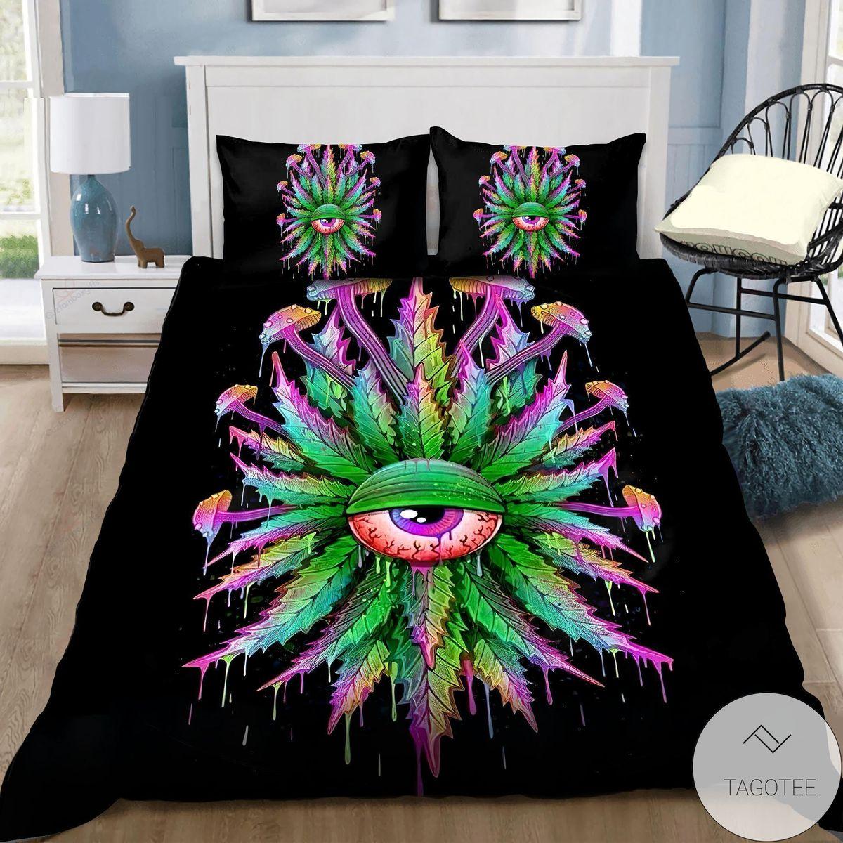 Giant Eye Hippie Bedding Set