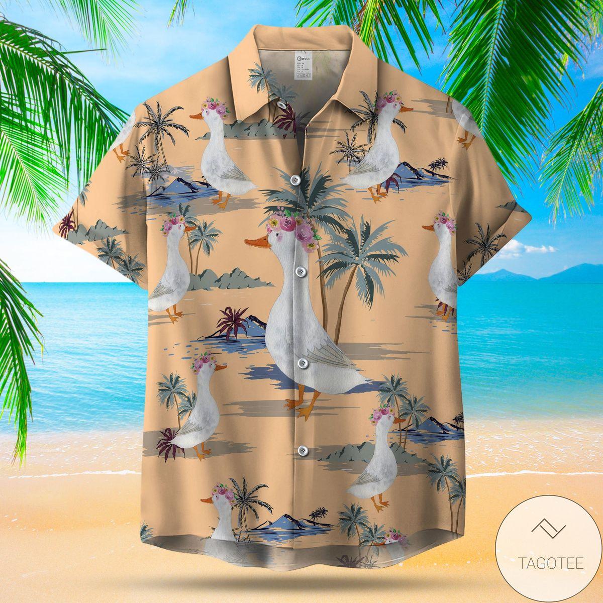 Only For Fan Camo Horses Pattern Hawaiian Shirt