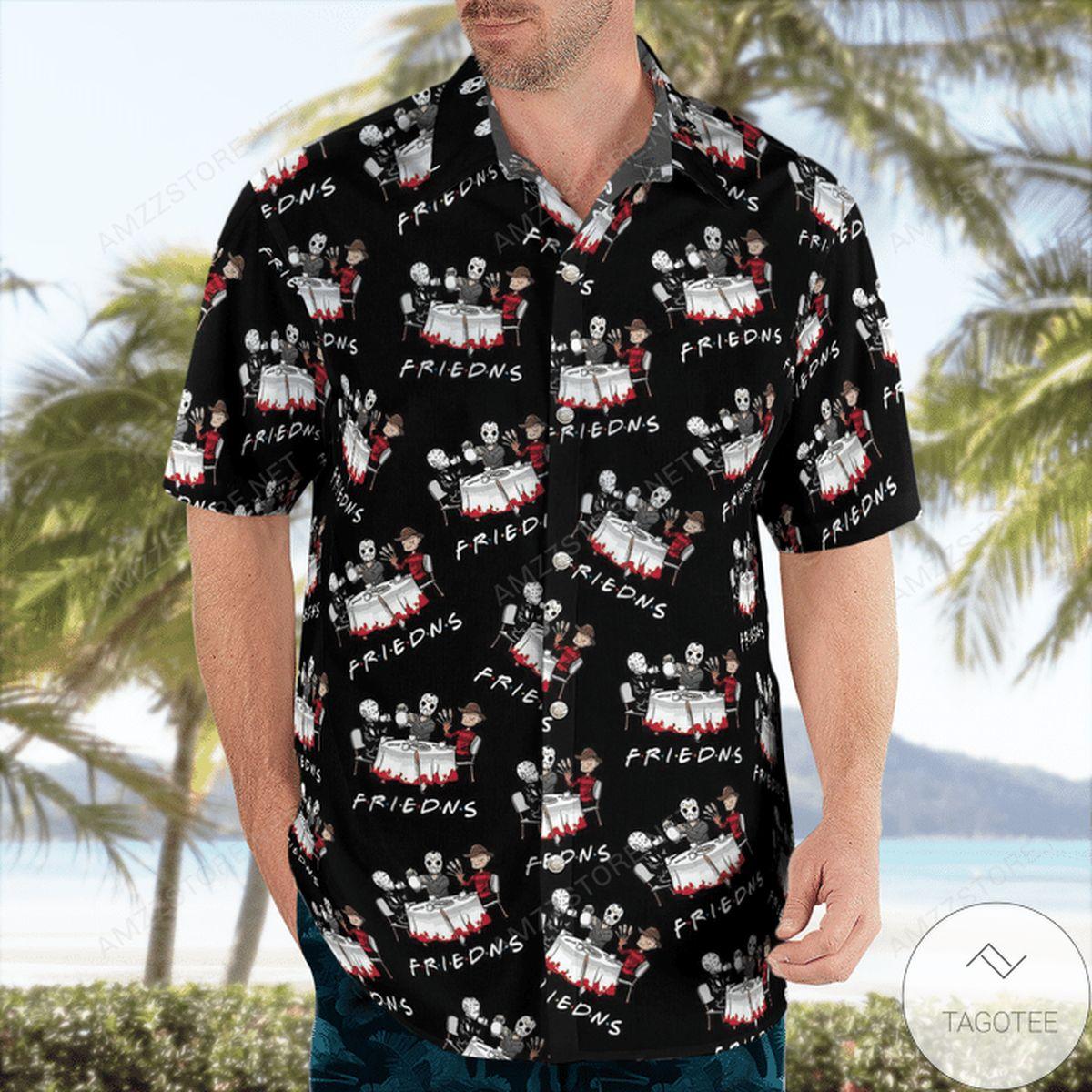 Gorgeous Halloween Friend Hawaiian Shirt