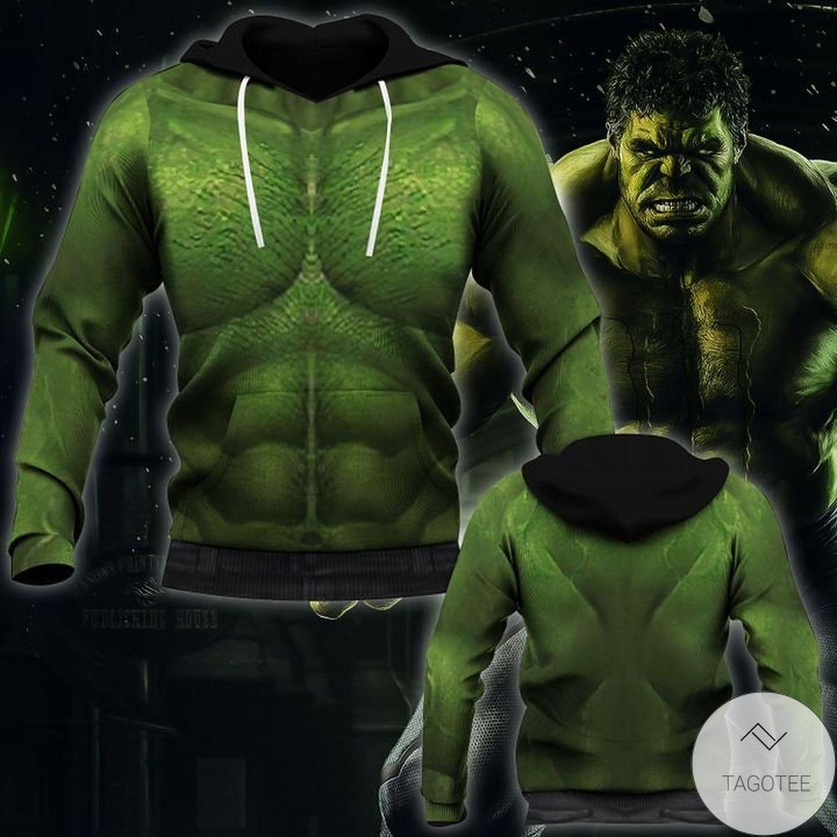 Sale Off Halloween Hulk Costume 3d Hoodie