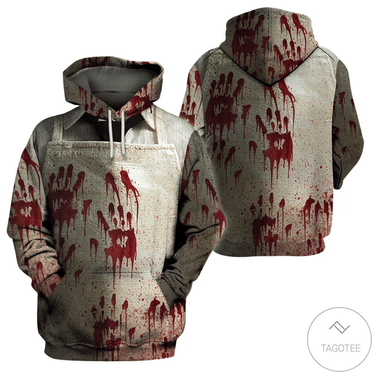 Clothing Halloween Leatherface Costume 3d Hoodie