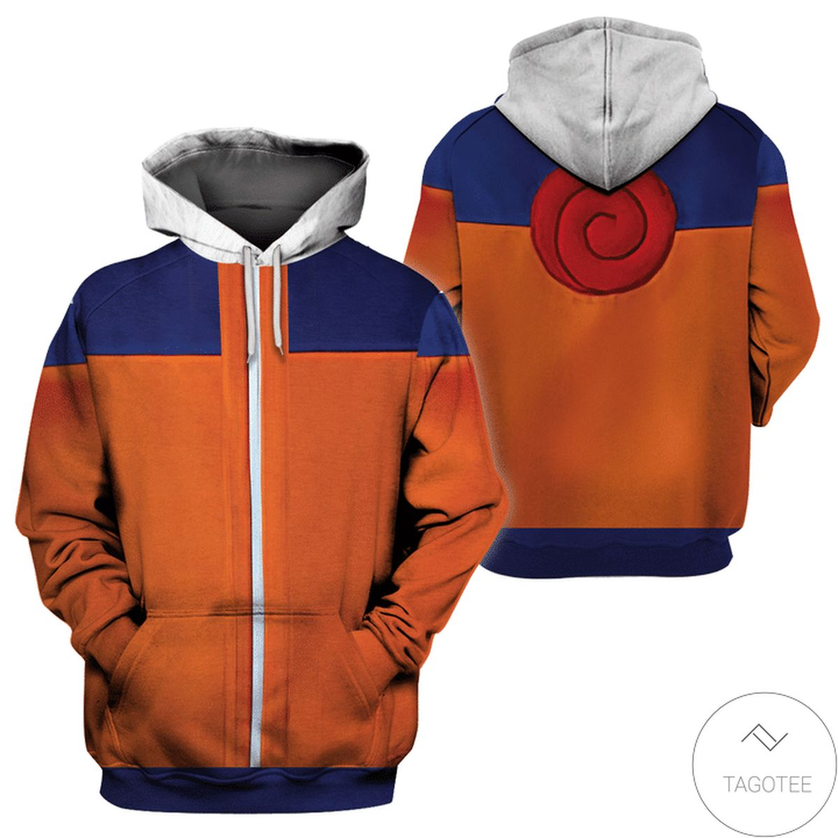 Father's Day Gift Halloween Naruto Costume 3d Hoodie