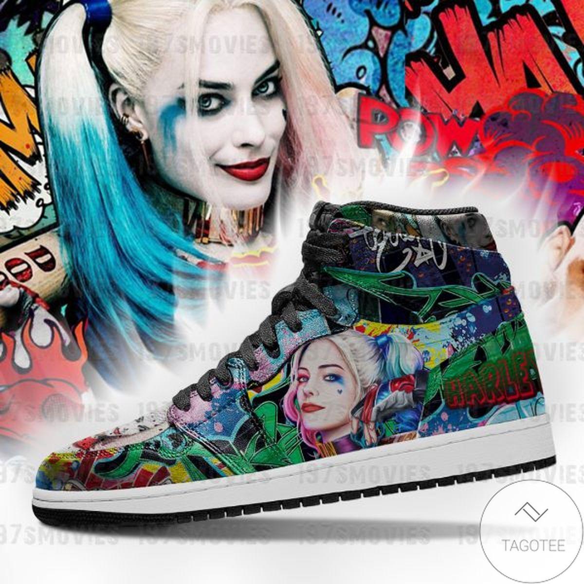 Beautiful Harley Quinn Sneaker Air Jordan High Top Shoes