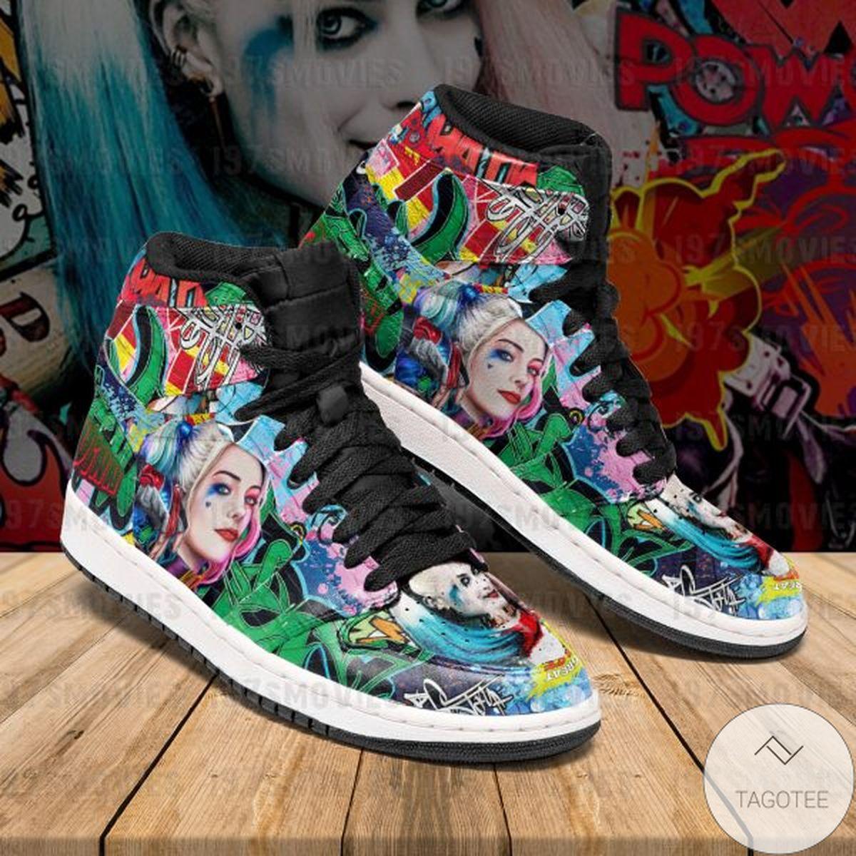 Sale Off Harley Quinn Sneaker Air Jordan High Top Shoes