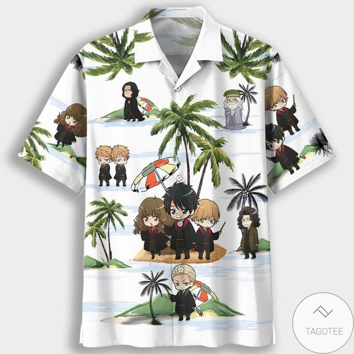 Harry Potter Summertime Hawaiian Shirt