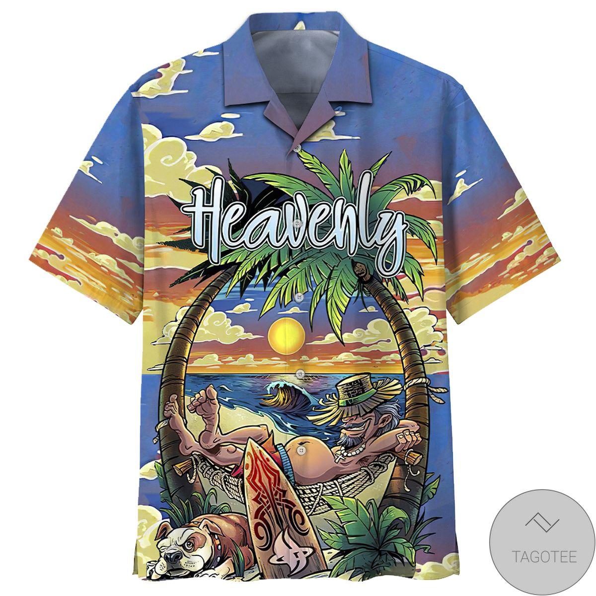 Heavenly Summer Beach Hawaiian Shirt