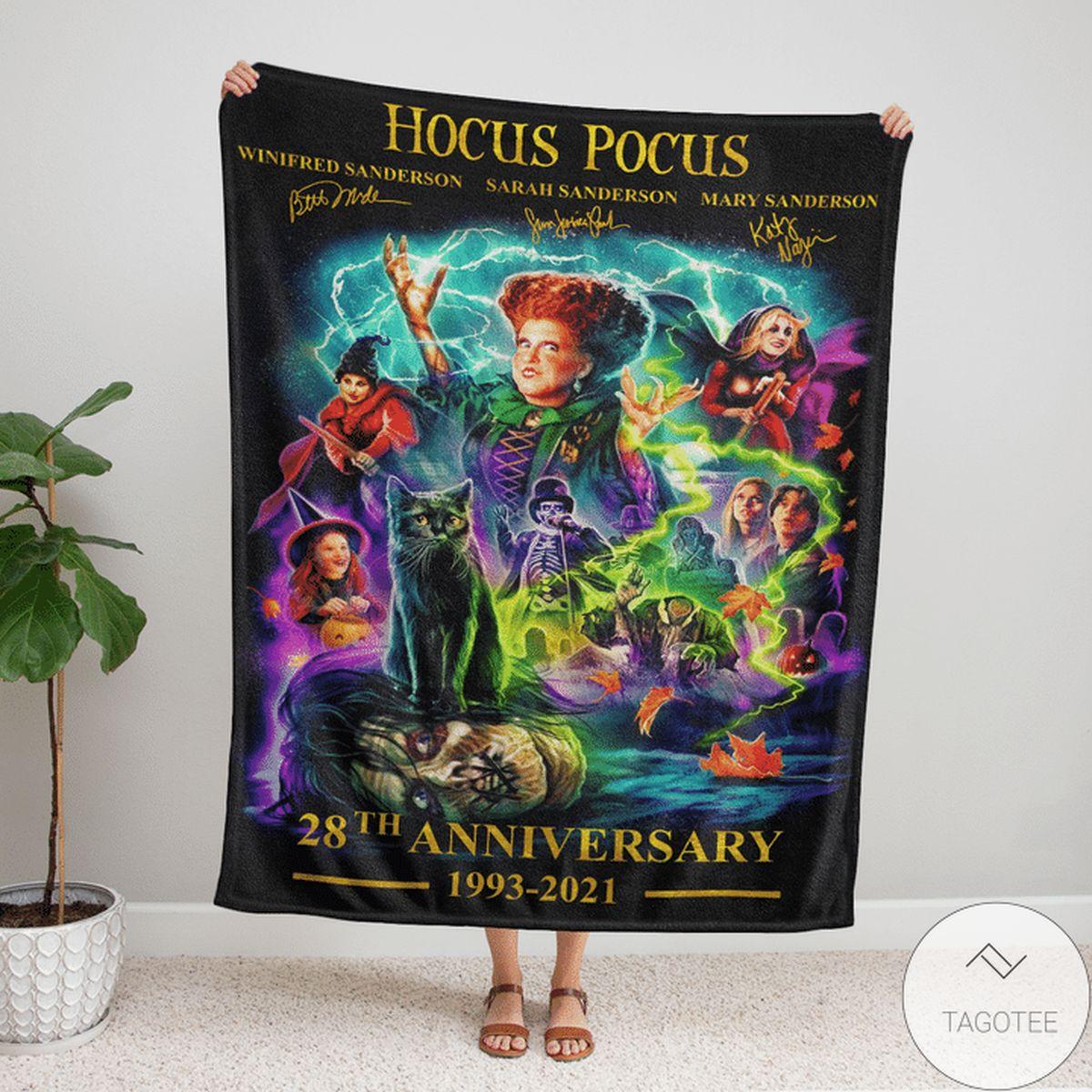 Wonderful Hocus Pocus 28th Anniversary Blanket