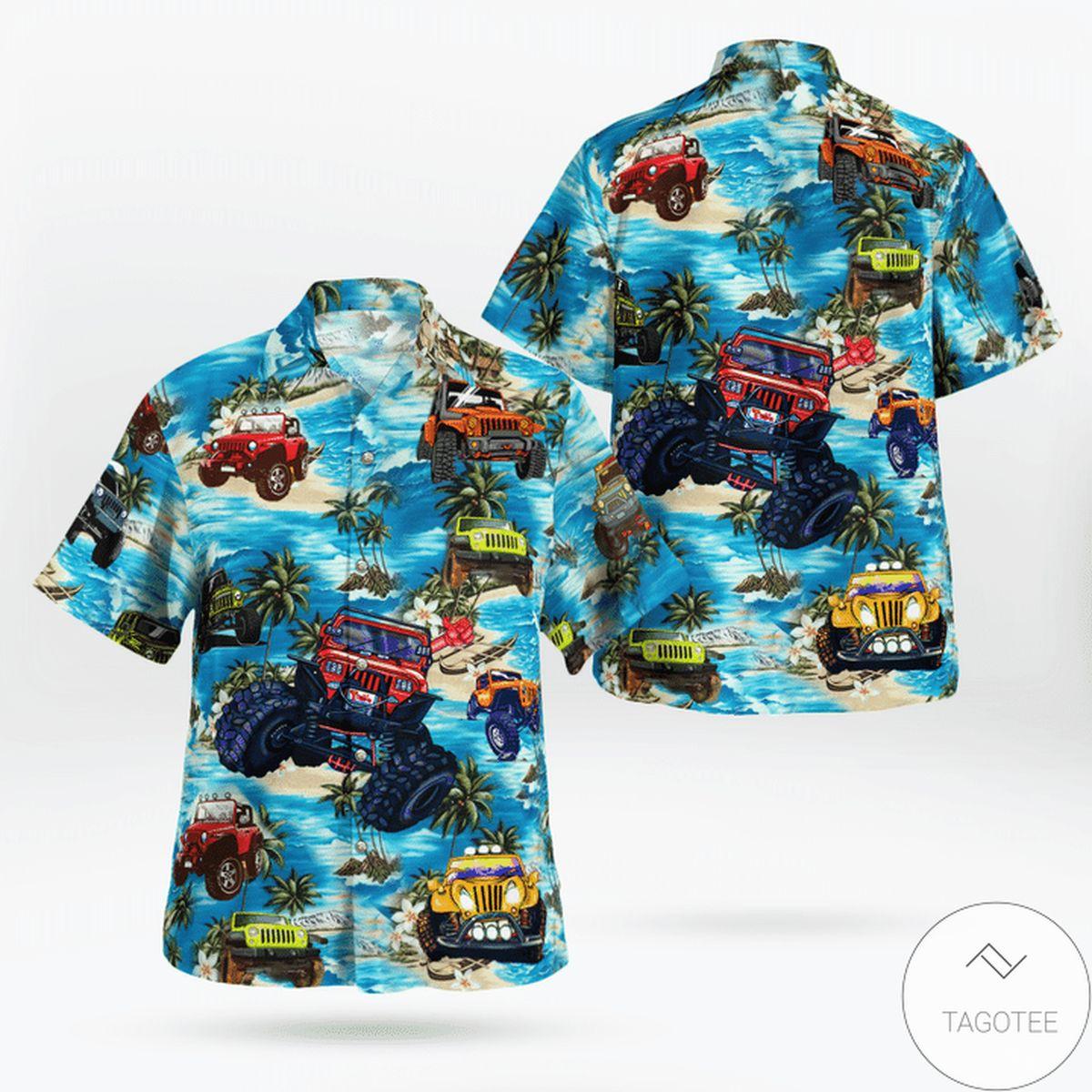 I Don't Snore I Dream I'm A Jeep Hawaiian Shirt