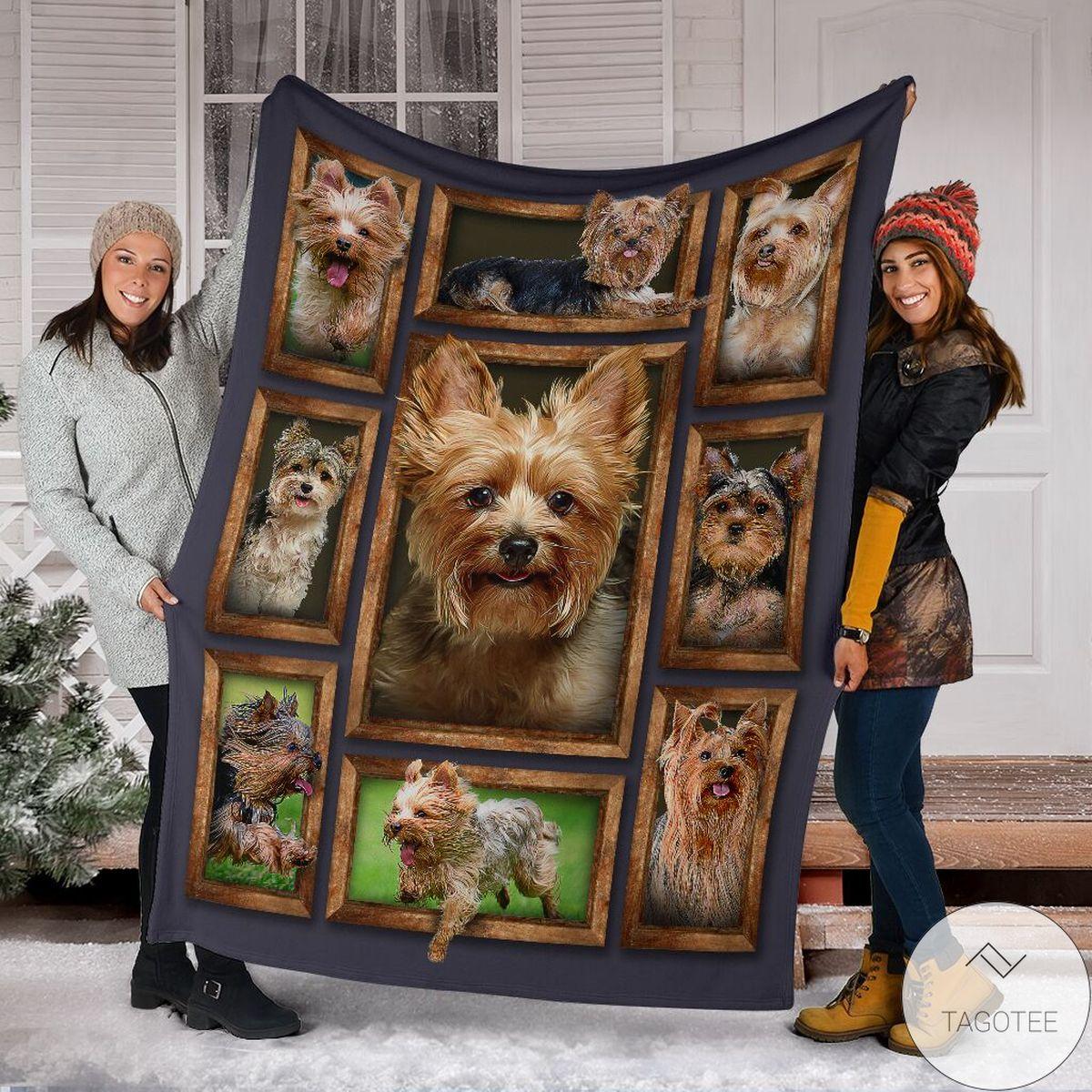 Great I Love My Yorkie Blanket