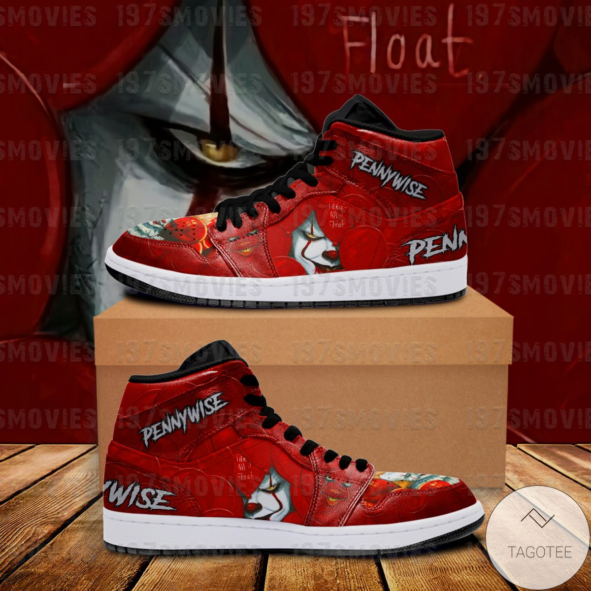 Vibrant IT Pennywise Sneaker Air Jordan High Top Shoes