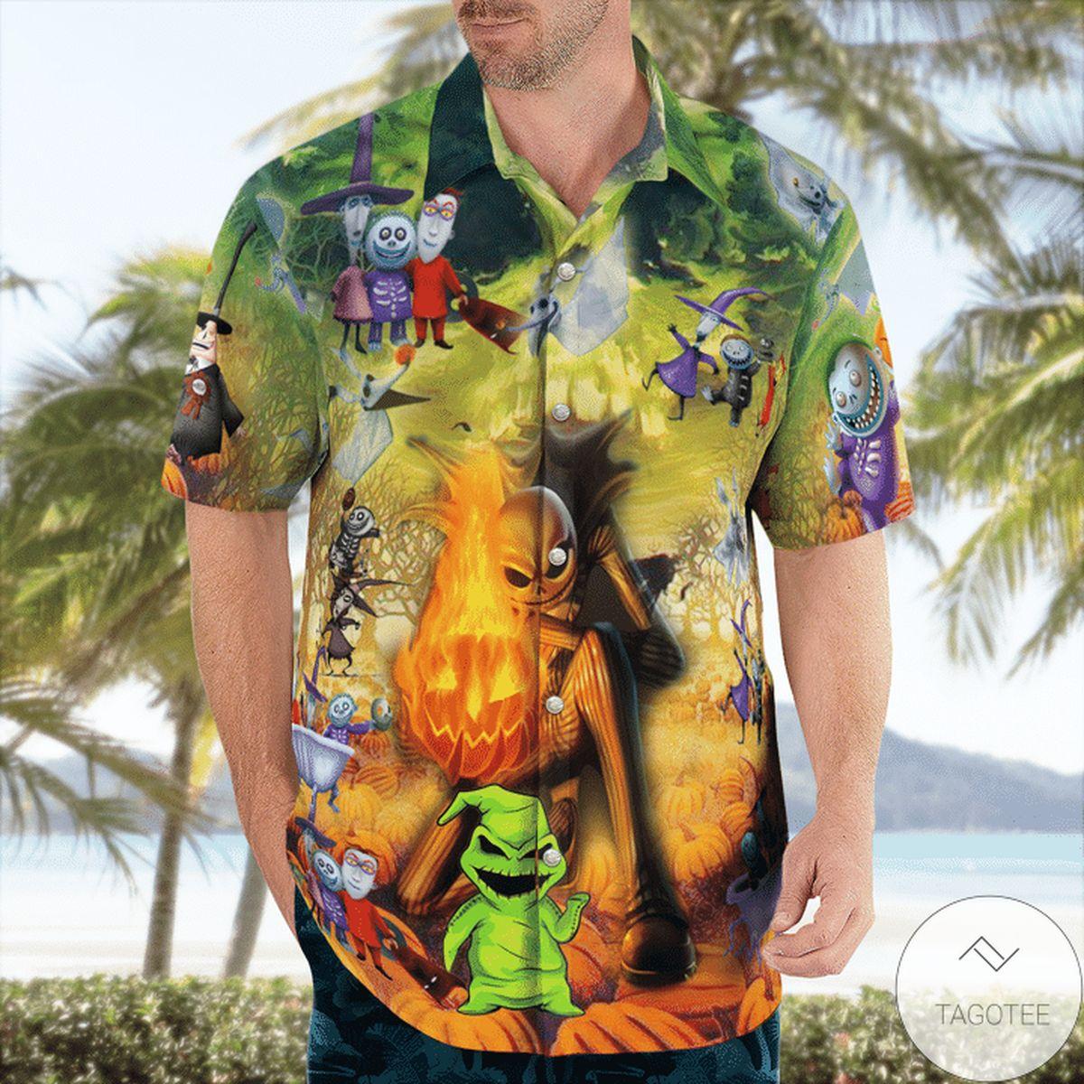 Great artwork! I'm The Nightmare Halloween Hawaiian Shirt