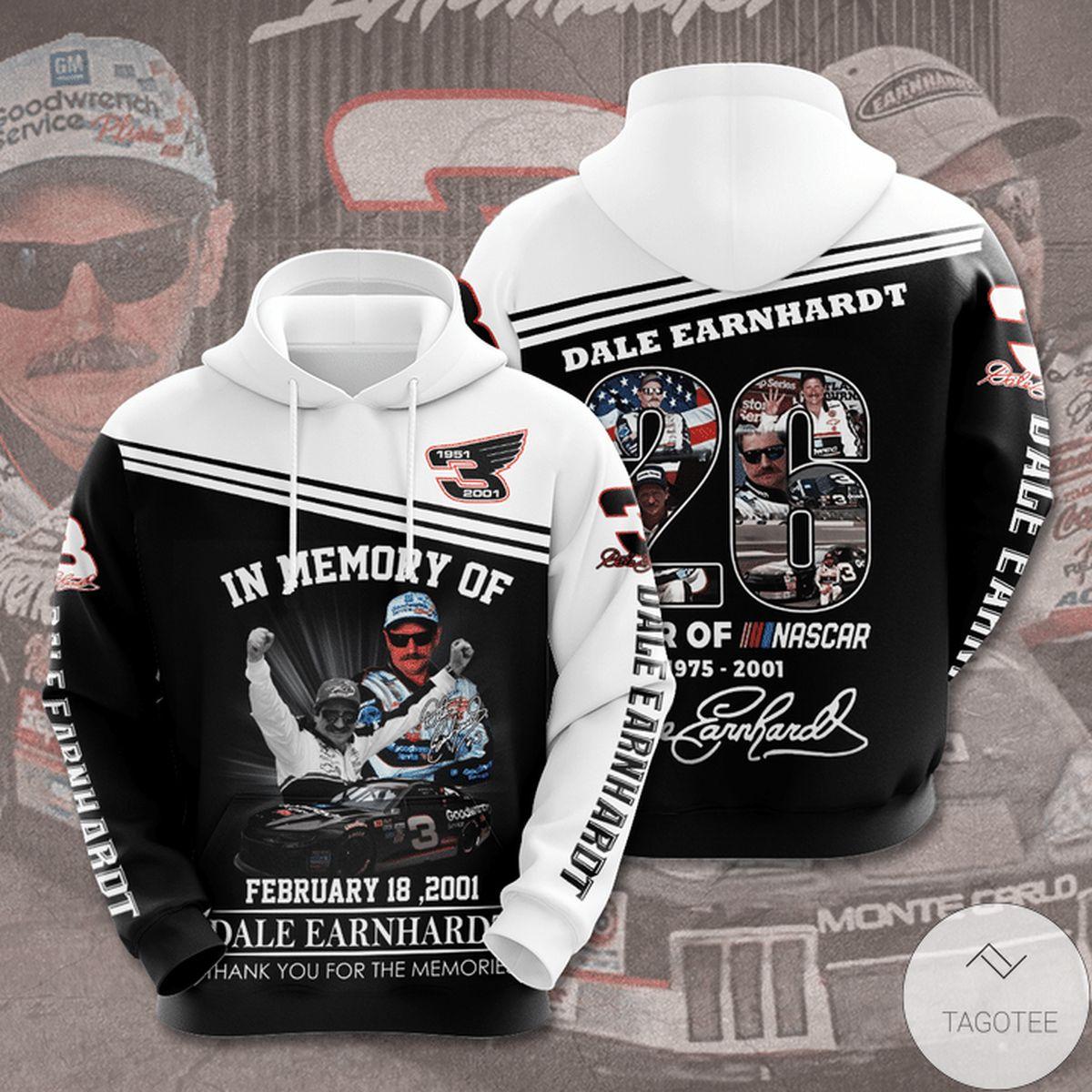 Best Shop In Memory Of February 18 2021 Dale Earnhardt Hoodie