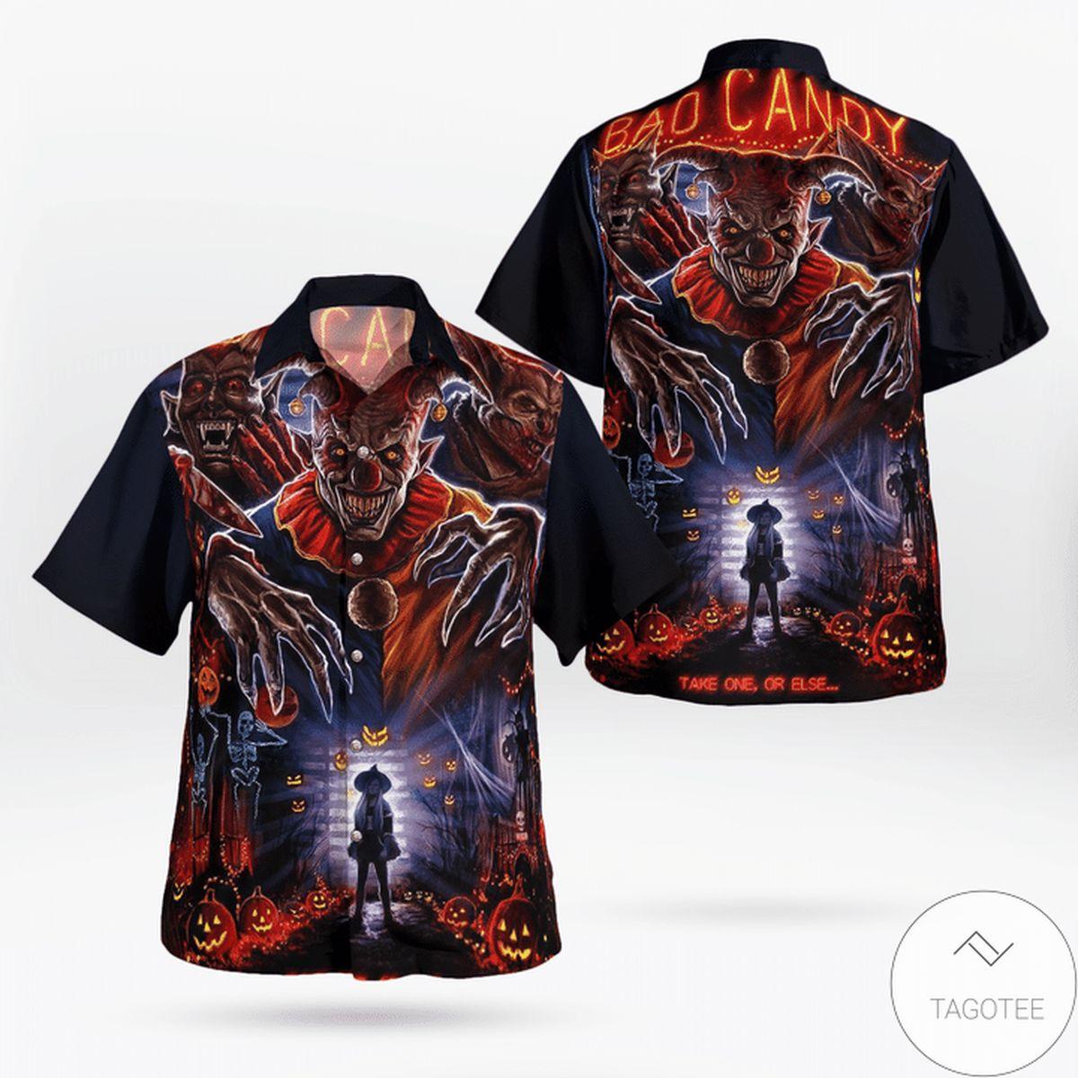 It Pennywise Halloween Hawaiian Shirt