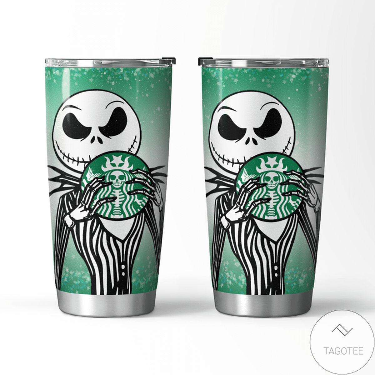 Jack Skellington Starbucks Tumbler