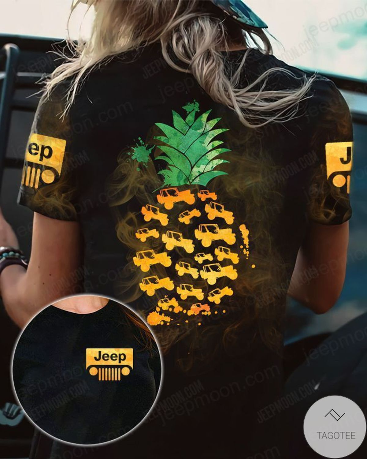 Great Jeep Pineapple 3D T-Shirt