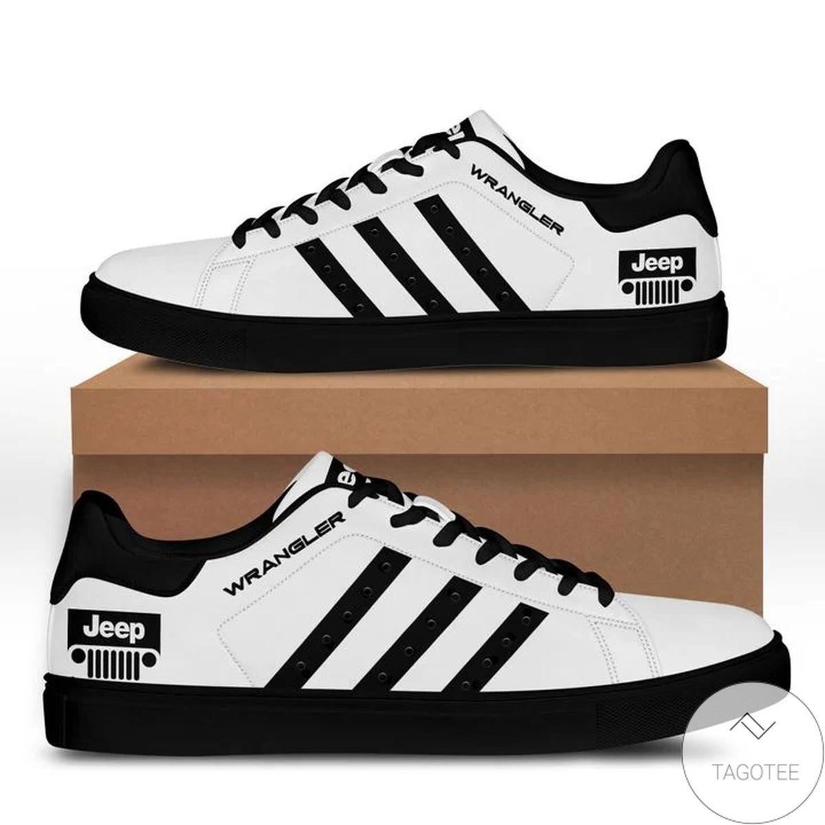 Jeep Wrangler Black White Stan Smith Shoes