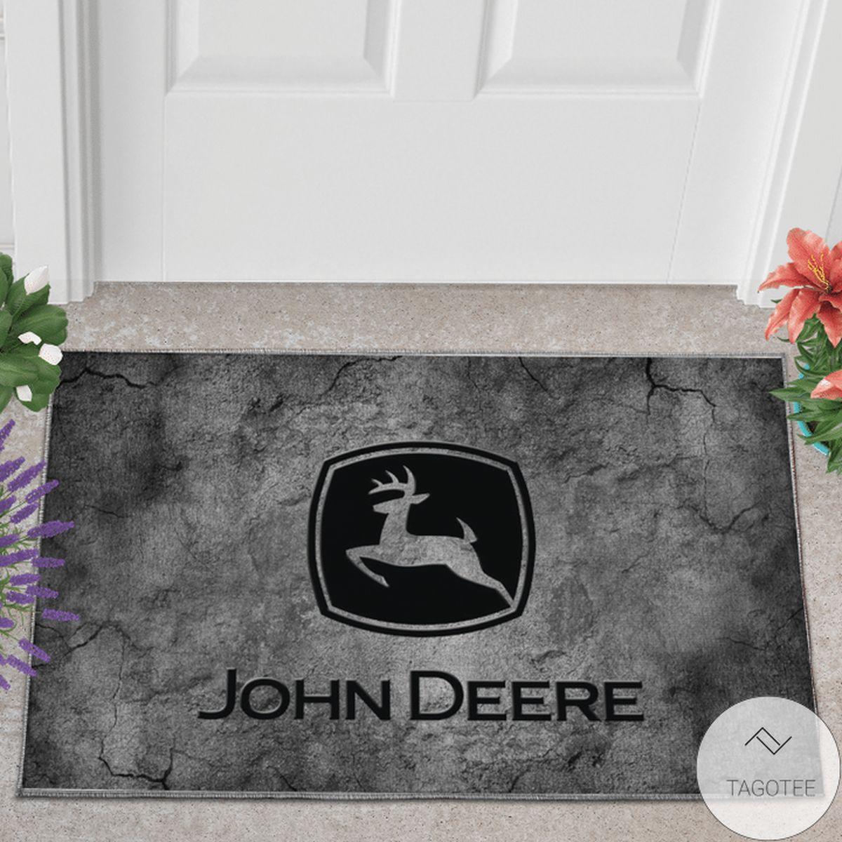 Perfect John Deere 3D Printed Doormat
