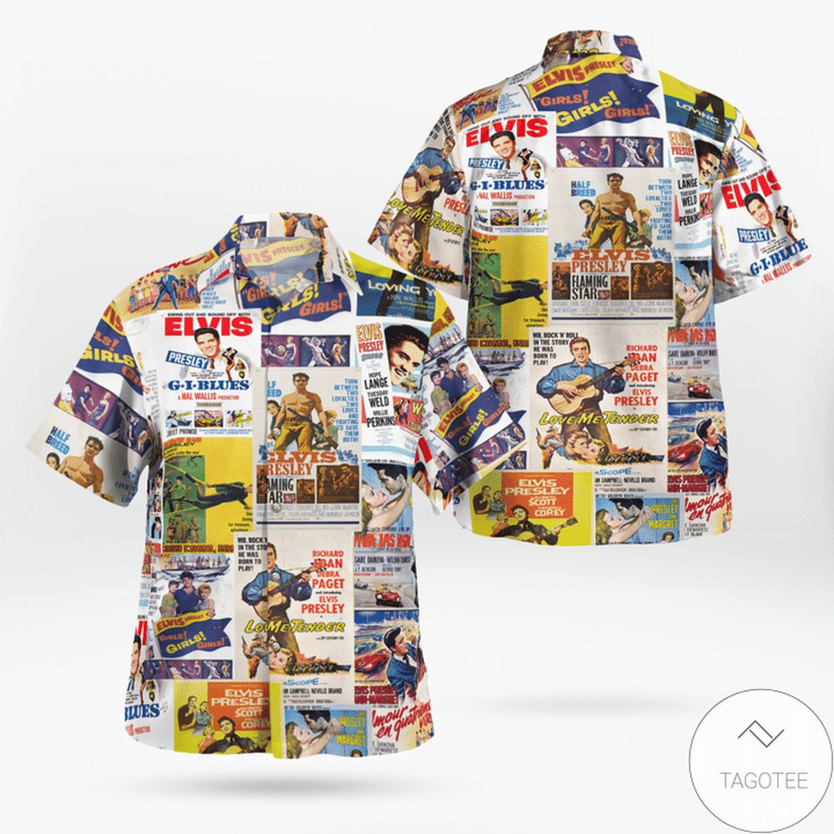 Adult King Unisex Hawaiian Shirt