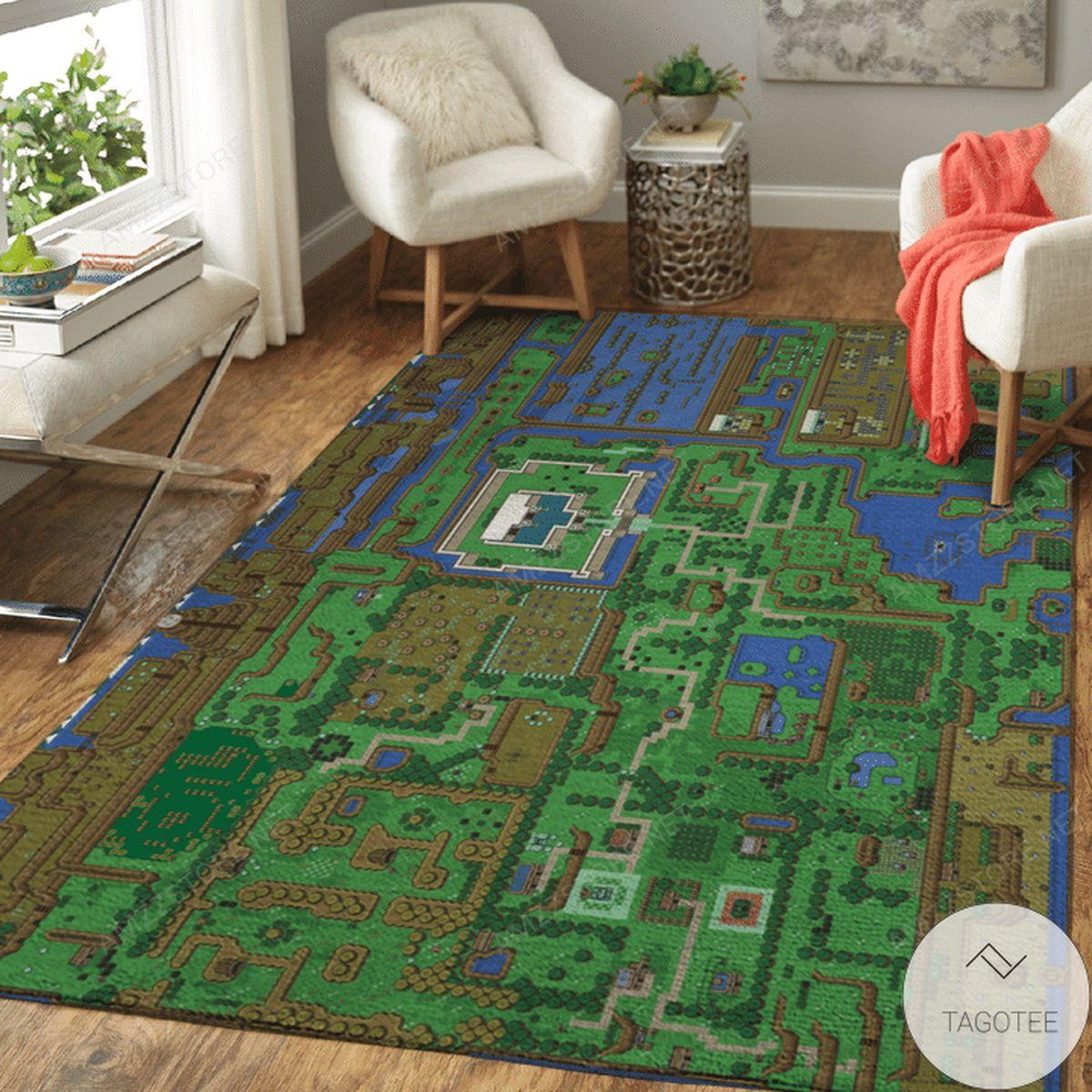 Free Ship Legend Of Zelda Area Rug