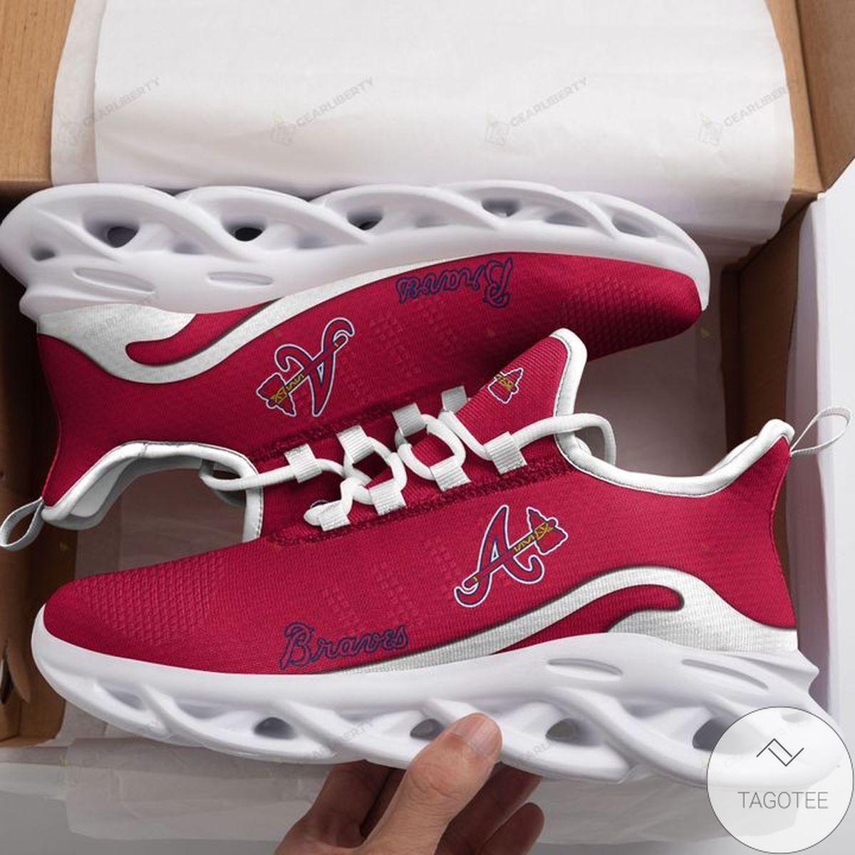 MLB Atlanta Braves Max Soul Shoes