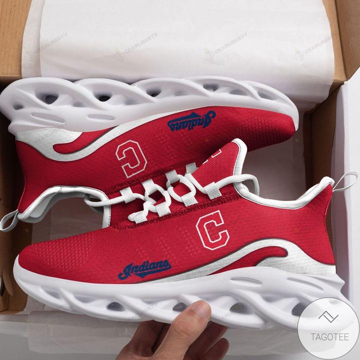 MLB Cleveland Indians Max Soul Shoes