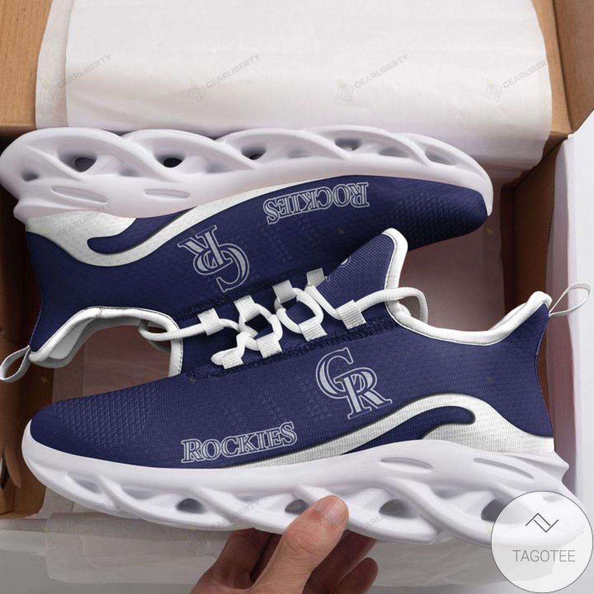MLB Colorado Rockies Max Soul Shoes