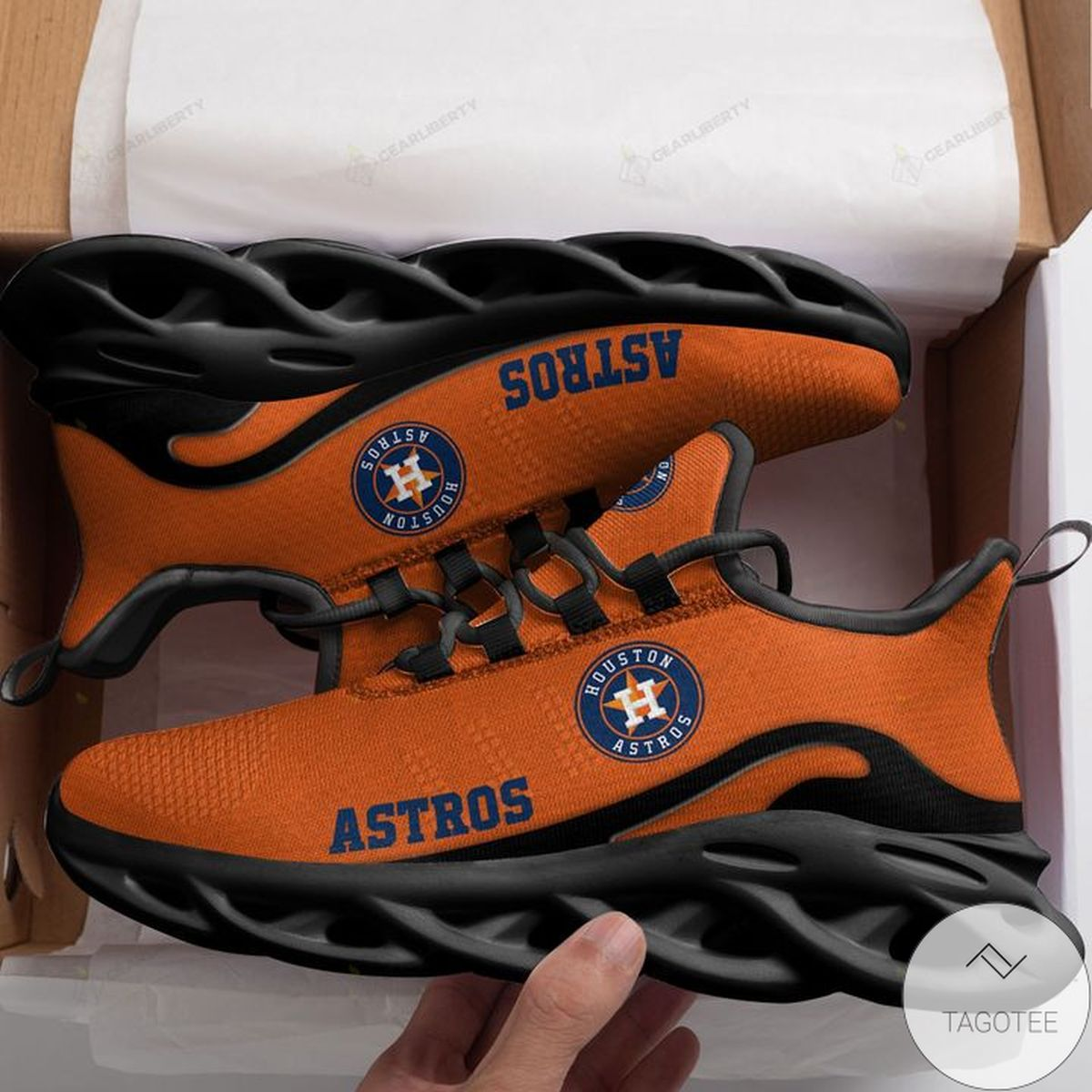 Absolutely Love MLB Houston Astros Max Soul Shoes