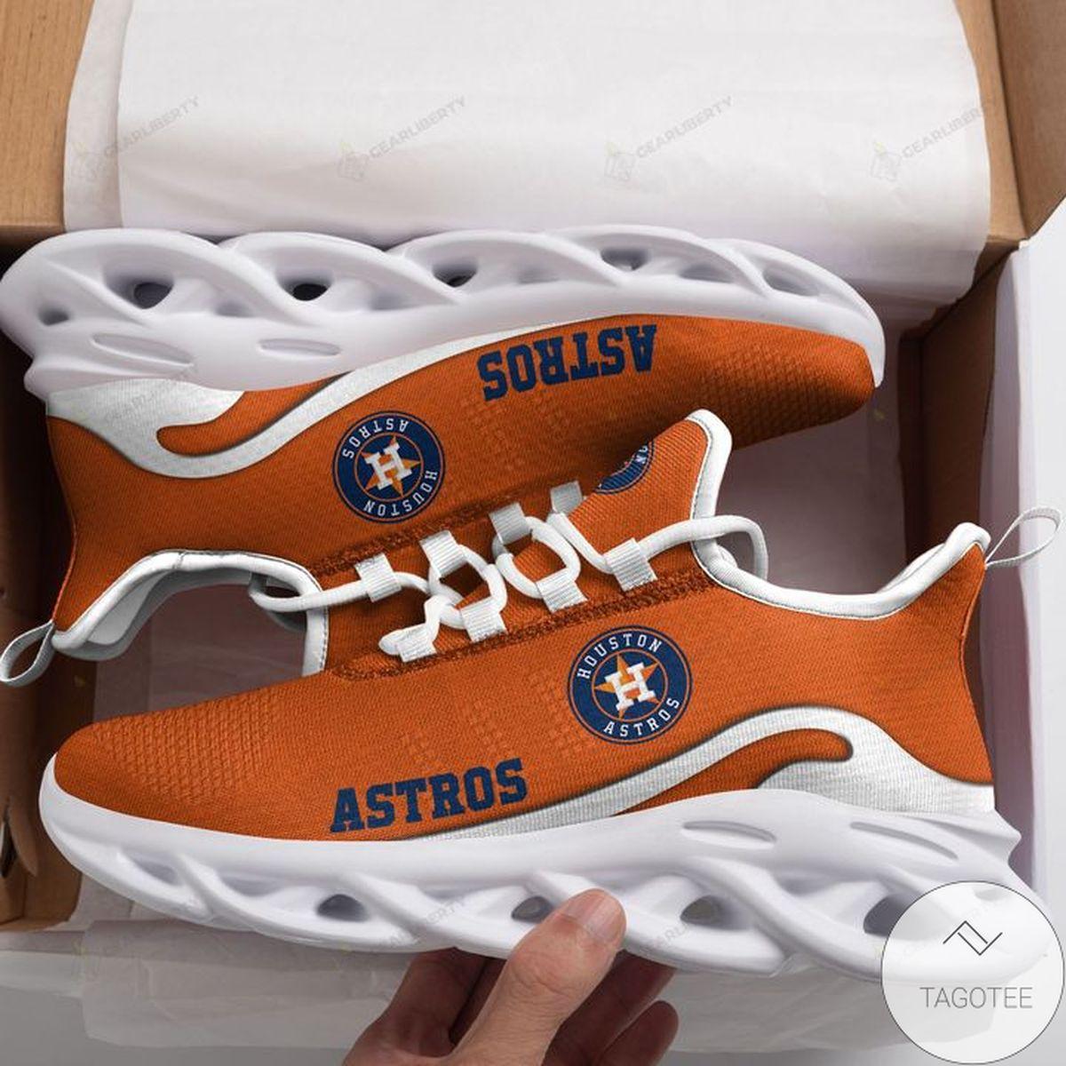 Print On Demand MLB Houston Astros Max Soul Shoes
