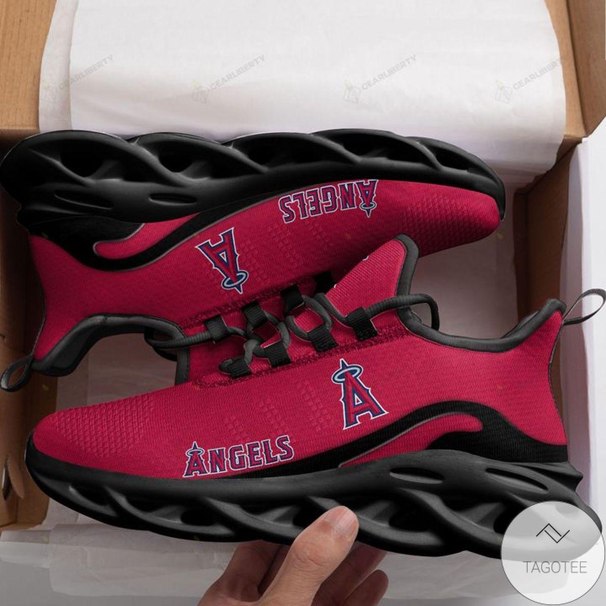 MLB Los Angeles Angels Max Soul Shoes