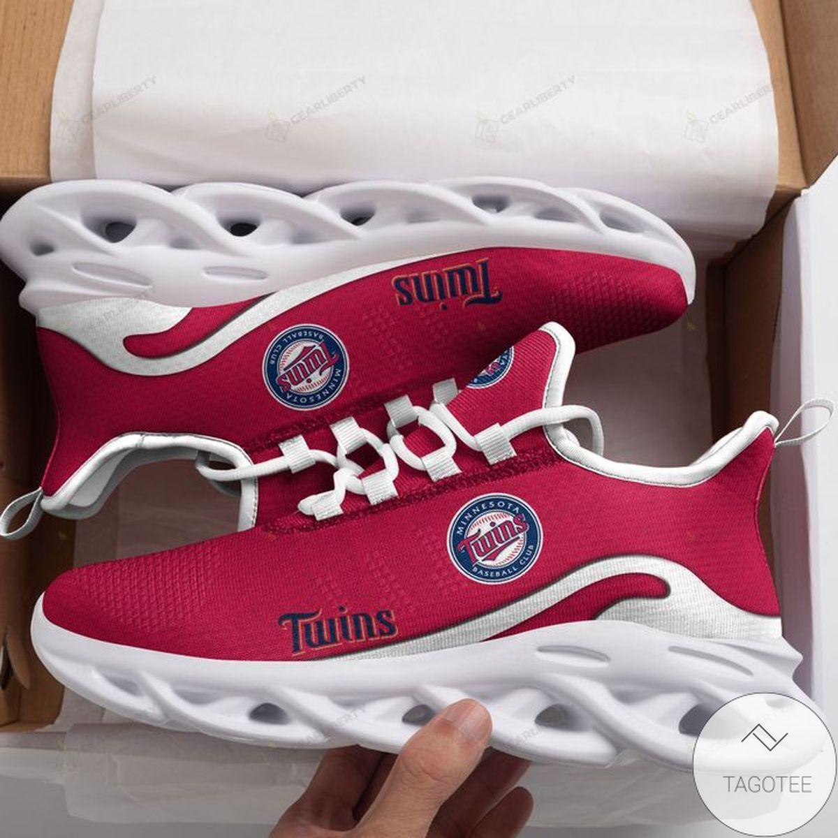 MLB Minnesota Twins Max Soul Shoes