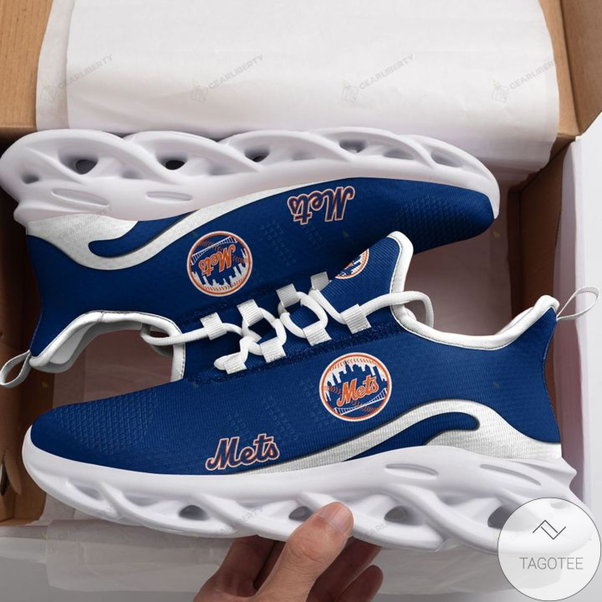 MLB New York Mets Max Soul Shoes
