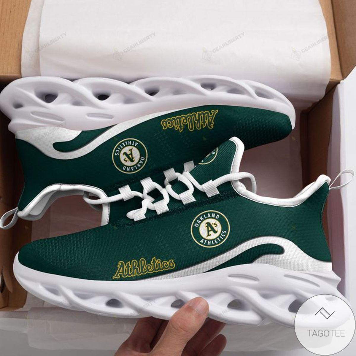 MLB Oakland Athletics Max Soul Shoes