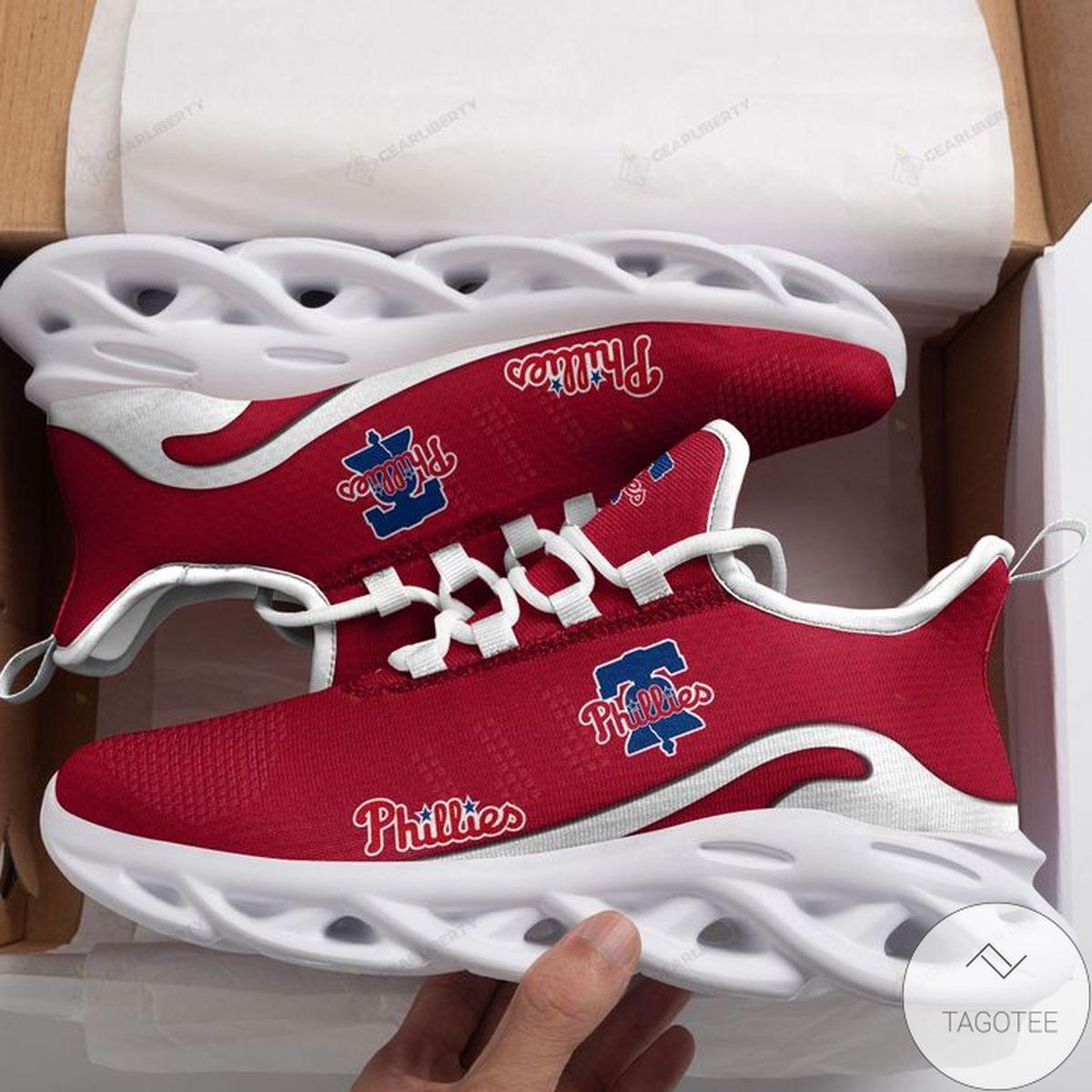 MLB Philadelphia Phillies Max Soul Shoes
