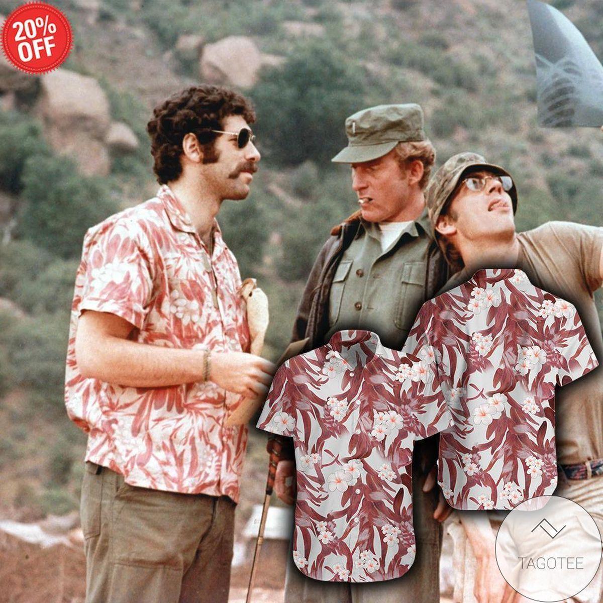 Excellent Mash Vibe Robert Altman's Hawaiian Shirt